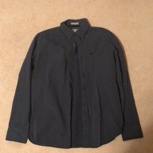 Long sleeve American eagle vintage fit button up